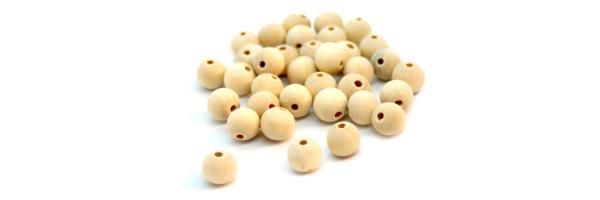 Perlen in Kugelform