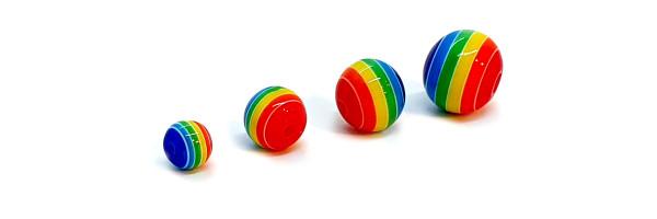 Regenbogen Perlen