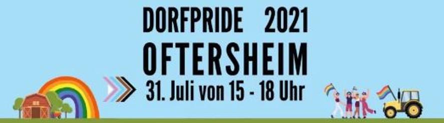 Dorf-Pride 2021 in Oftersheim