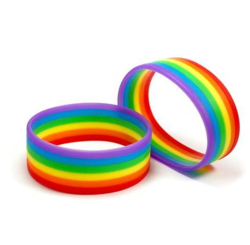 Pride-Armbänder