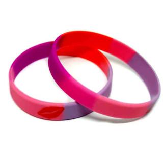Lippenstift-Lesben Armband 12mm