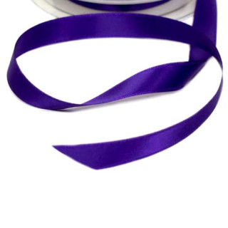 Satinband  in dunkle Orchidee 15mm Stoffband