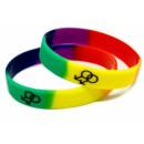 Doppel-Männlich Armband Regenbogenfarben