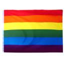 10 Regenbogenfahnen Flagge 90*150cm PRIDE