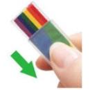 1-Mal Regenbogen Make-Up Stick für Dein CSD...