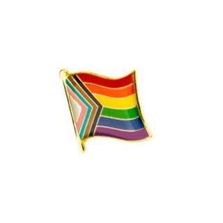 Quasar-Regenbogen-Flagge Pin / Anstecker