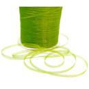 10m Organze Geschenkband Hell-Grün/Apple-green 3mm