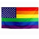 Regenbogenfahne USA Flagge 90*150cm PRIDE