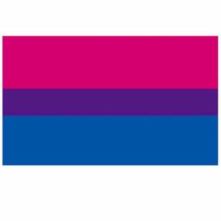 Bisexuell Fahne