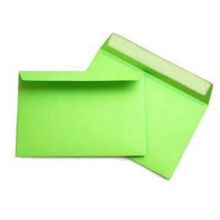 Briefumschlag Hell-Grün C6 Haftklebend 120g/qm