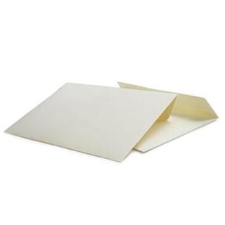 Briefumschlag  Elfenbein C6 Haftklebend 120g/qm