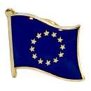 EU-Flaggen Pin Europäische Union