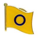 Intersexuell-Flagge LGBT Gay Pride Inter-Pin
