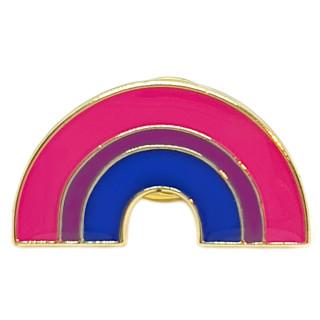 Regenbogen-Pins in Bi Farben LGBT