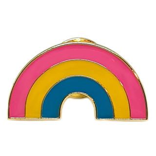Regenbogen-Pins in Pan Farben LGBT