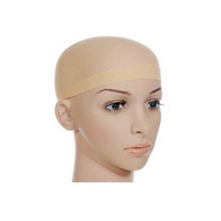 Haarnetz/ Perückenstrümpfe 2er Pack in Beige / Wig-Cap