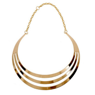 Kette Sir / Goldfarbene Ring-Kette