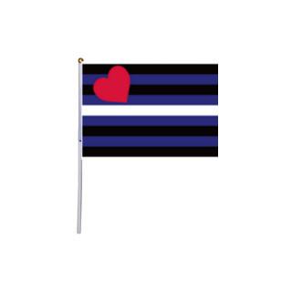 Lederfetisch Hand-Fahne
