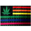 Hanf-Regenbogenfahne Fahne