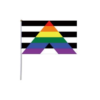 Hand-Fahne Straight Allies