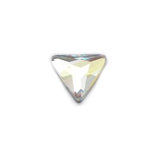 3D Strasssteine Dreieckig 6mm (1960) Cristal-Farben