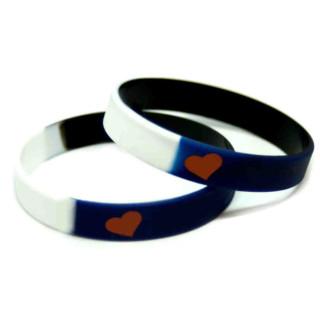 Armband im Leder-Fetisch-Design 12mm