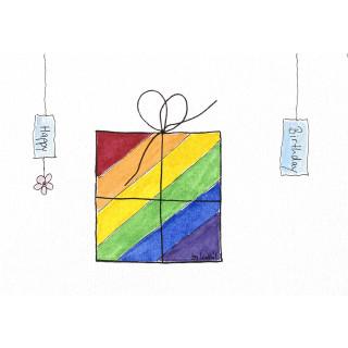 Geschenk quer