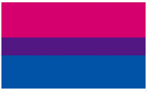 Bisexuell-Flagge
