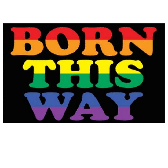 Born this Way-Flagge